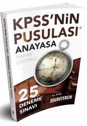 Doğru Tercih Yayınları - 2018 KPSS nin Pusulası Anayasa 25 Çözümlü Deneme