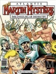 Lal Kitap - Atlantis Martin Mystere Yeni Seri Sayı: 61 Cinayet Kasırgası İmkansızlıklar Dedektifi