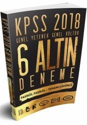 Benim Hocam Yayıncılık - KPSS Genel Yetenek Genel Kültür Tamamı Çözümlü 6 Altın Deneme 2018