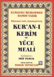 Pamuk Yayıncılık - Kuranı Kerim ve Yüce Meali Rahle Boy